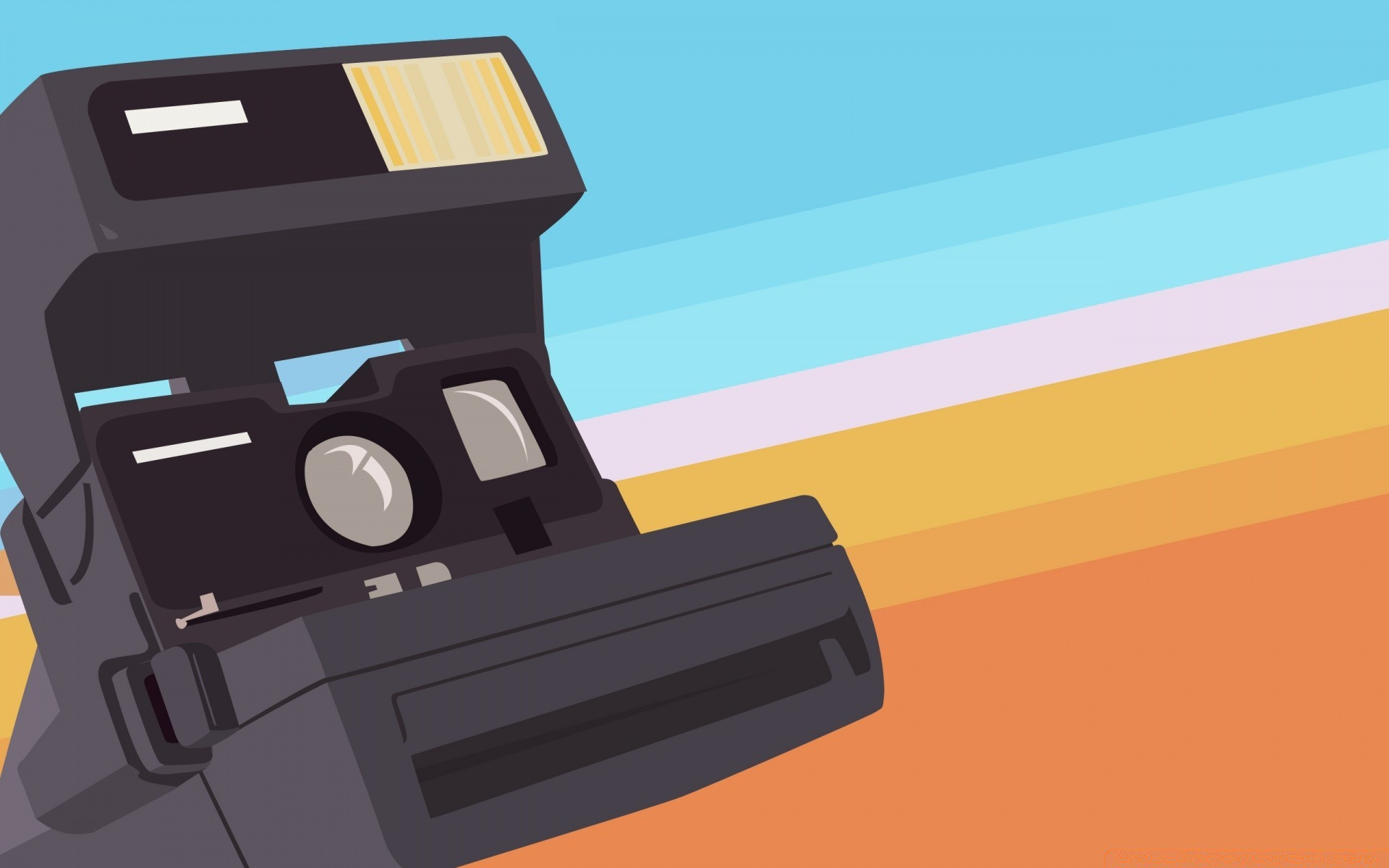 1920x1200 Polaroid Camera Vector Art. Iphone Wallpapers For Free.