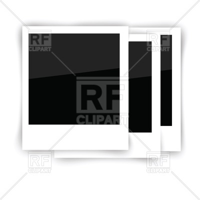 400x400 Photo Frame For Polaroid Vector Image Vector Artwork Of Borders