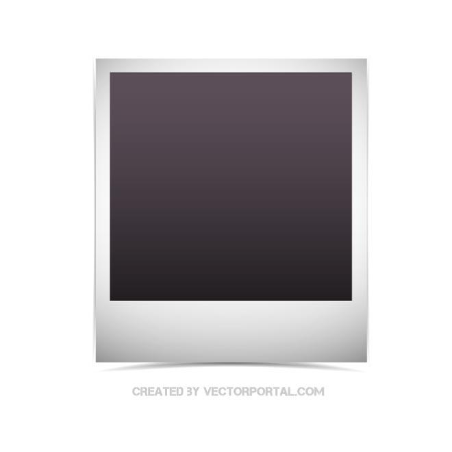 660x660 Polaroid Picture Free Vector 123freevectors
