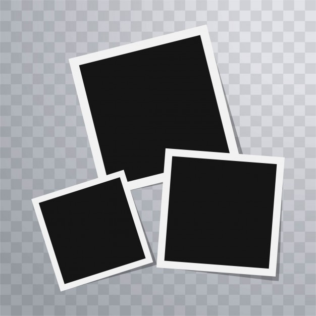 626x626 Polaroid Photo Frames Template Vector Free Download