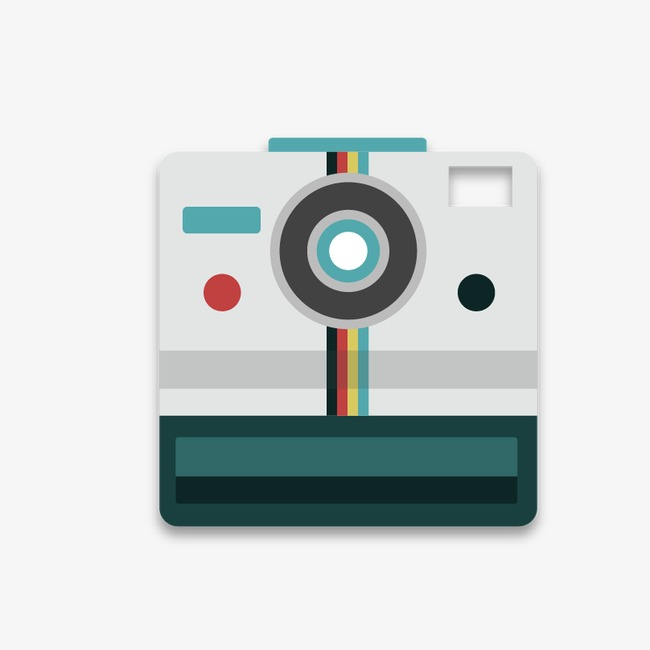 650x650 Vector Polaroid, Polaroid Vector, Vector Camera, Cartoon Camera