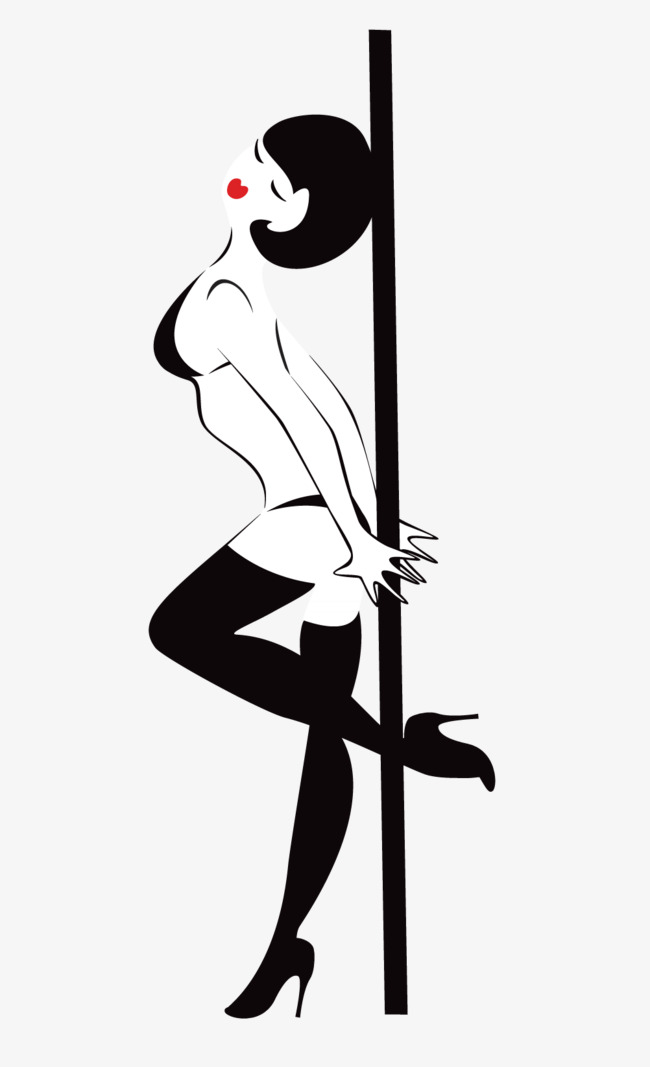 650x1067 Pipe Dancers, Pole Dancing, Black, Curve Beauty Png And Vector For
