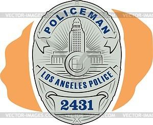 300x245 Police Badge
