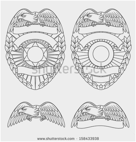 450x470 Free Police Badge Template Marvelous Badges Vectors S And Psd
