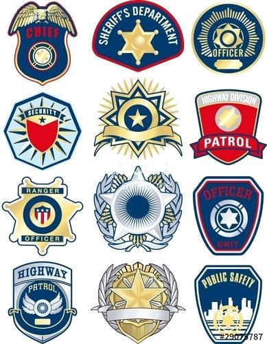 389x500 Police Badge Vector Free Download Police Vector Badges Dubai