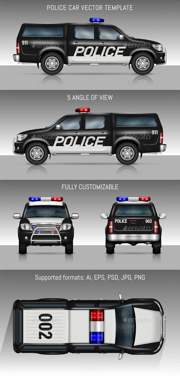 590x1234 Police Car By Yurischmidt Graphicriver