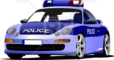 400x209 Police Car Vector Image Vector Artwork Of Transportation