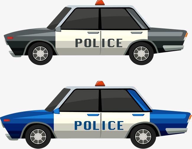 650x504 Blue Black Police Car, Blue Vector, Black Vector, Car Vector Png