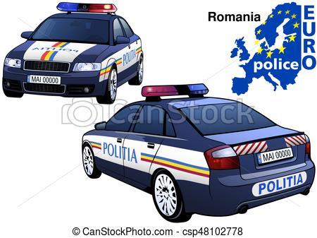 450x337 Romania Police Car