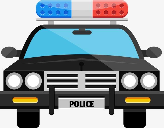 650x509 Vector Cartoon Police Car, Police Clipart, Car Clipart, Police Car