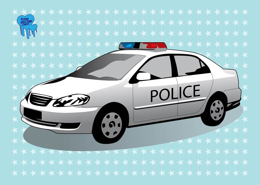 1024x729 Police Car Vector Art Amp Graphics