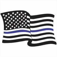 Police Flag Vector