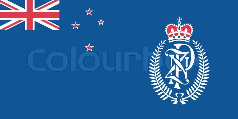 800x400 Original And Simple New Zealand Police Flag Isolated Vector In