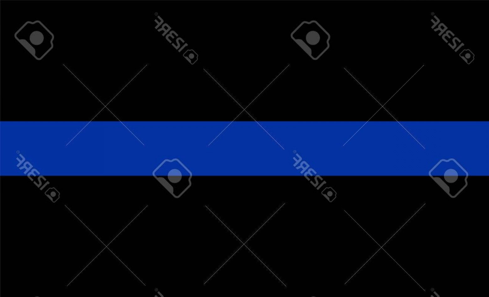 1560x948 Photostock Vector Thin Blue Line Vector Flag Law Enforcement