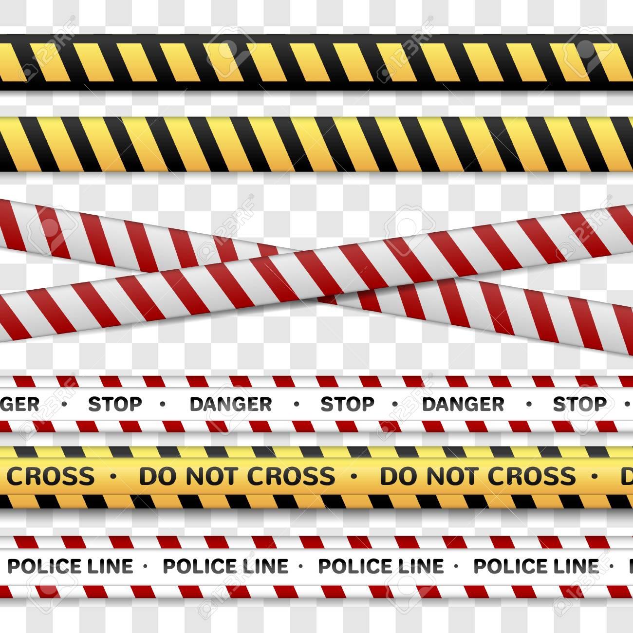 1300x1300 Police Line Flag Clipart Vector