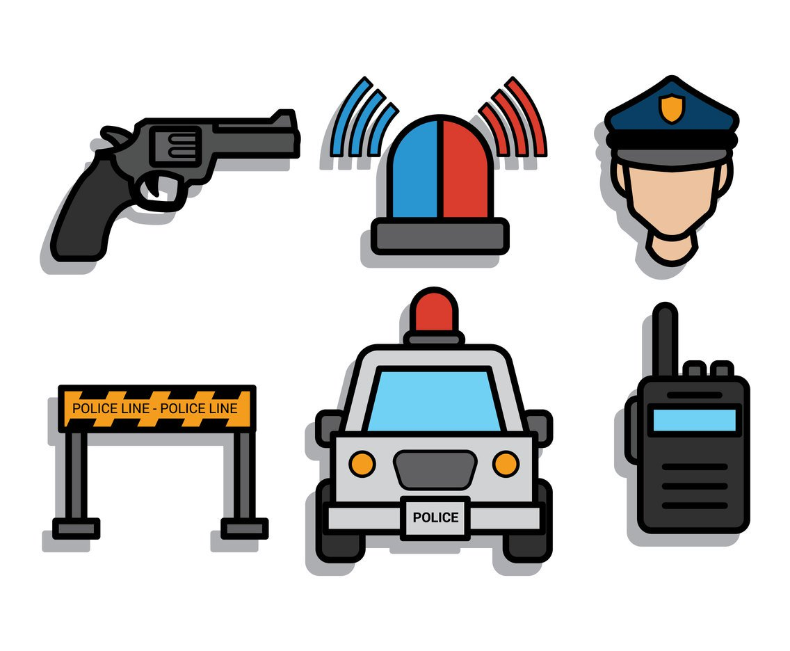 1136x936 Police Vector Art