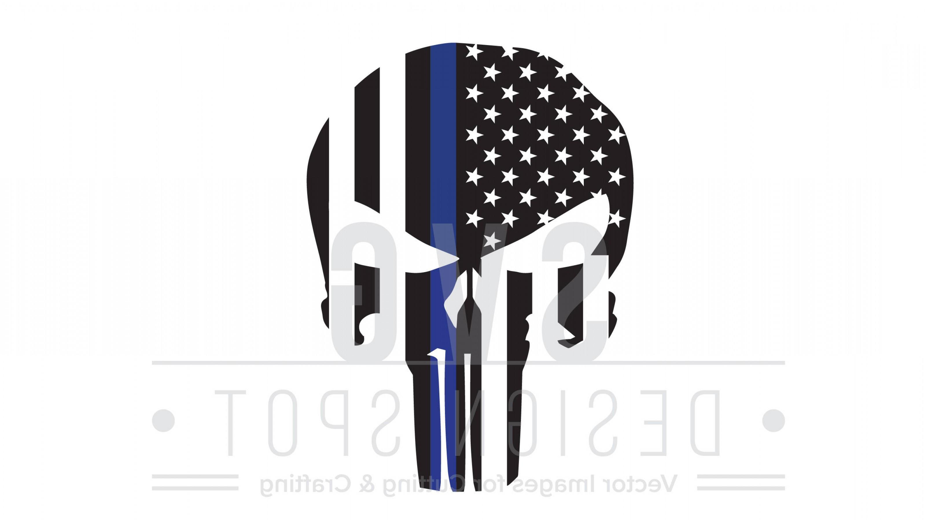 3201x1800 The Punisher Skull Flag Police Officer Sohadacouri