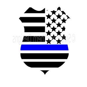 300x300 The Thin Blue Line Police Symbol Vector Orangiausa