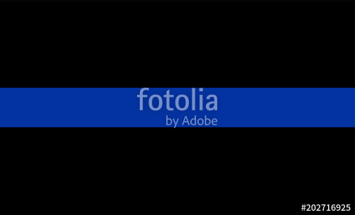 500x304 Thin Blue Line Flag Law Enforcement Symbol. American Police Flag
