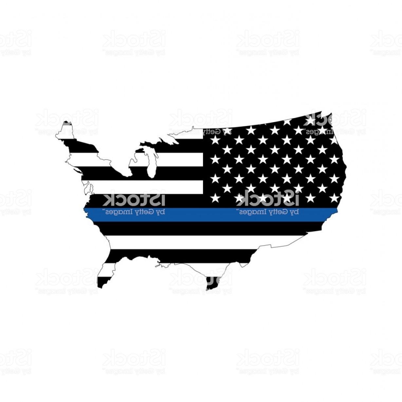 1228x1228 Vector Usa Police Flag Map Gm Lazttweet