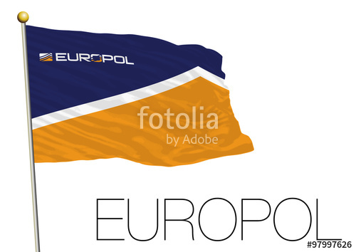 500x354 Europol European Police Flag Stock Image And Royalty Free Vector
