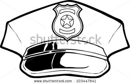 450x291 How To Draw A Police Hat Group With Items