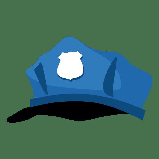 512x512 Police Hat Cartoon