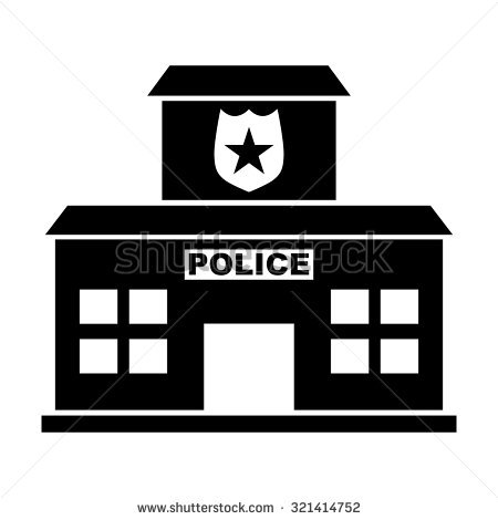 450x470 Police Station Icon Free Icons