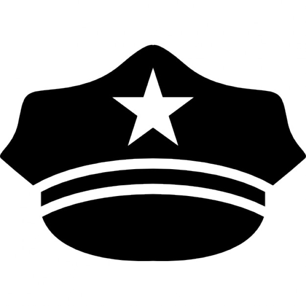 626x626 Hat Of A Policeman Icons Free Download