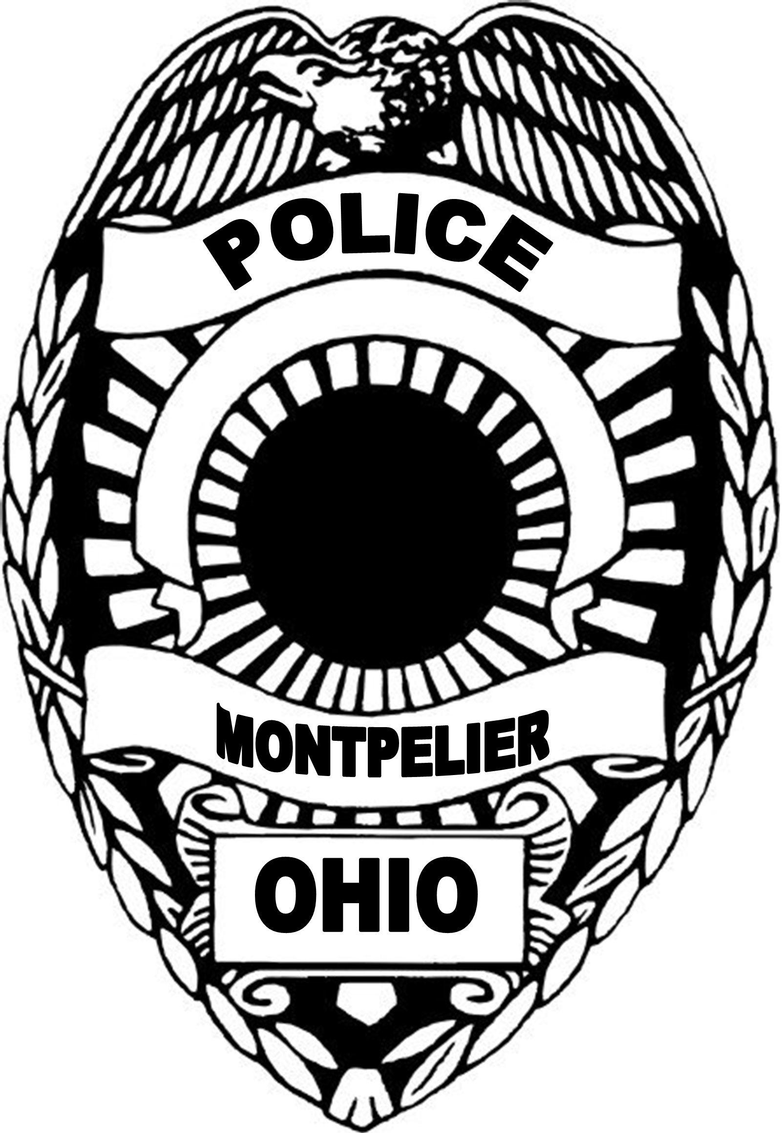 1601x2317 Police Badge Image Free Download Vector