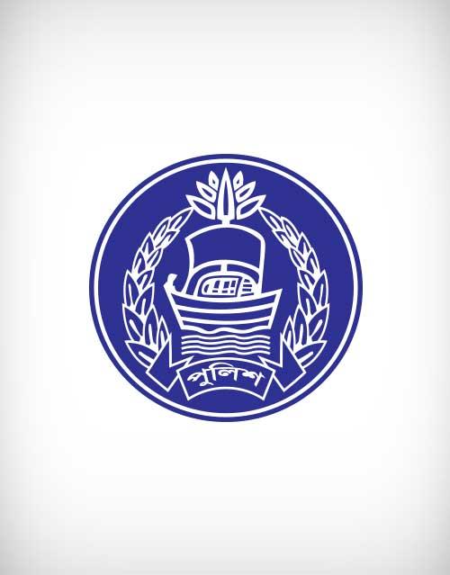 500x639 Bangladesh Police Vector Logo