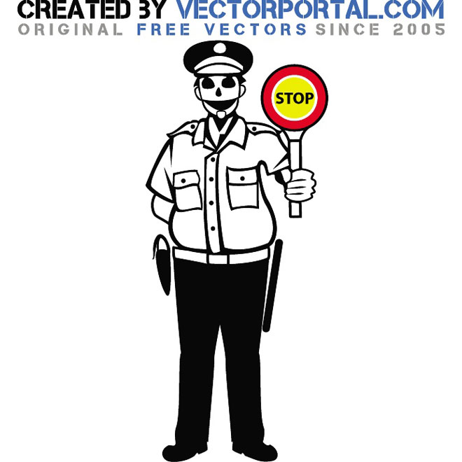 660x660 Police Officer Graphics Free Vector Free Vectors Ui Download