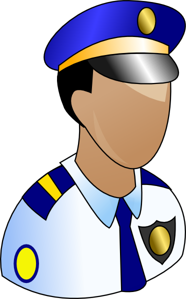 372x598 Police Clipart Vector Png