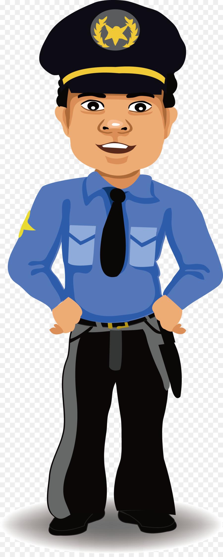 900x2240 Police Officer Cartoon Security