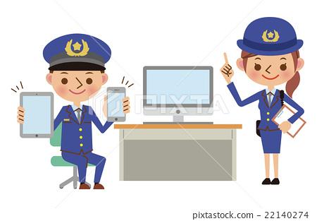 450x313 Police Officer, Vector, Vectors