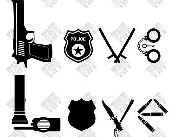 340x270 Police Shield Svg Police Shield Vector Police Shield Flag Etsy