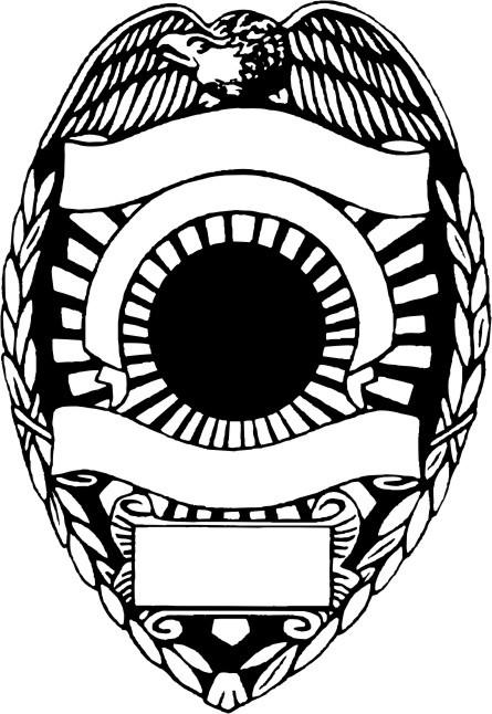 445x646 Police Shield Vector 165955