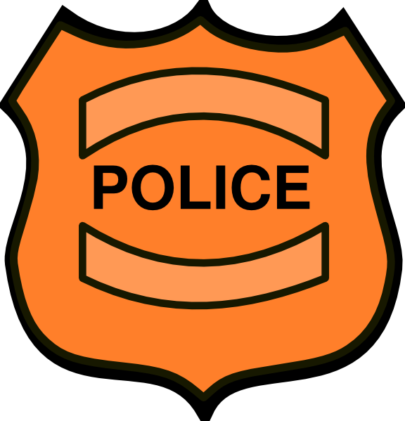 576x599 Collection Of Police Shield Badge Clipart High Quality, Free