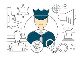 286x200 Free Vector Police Badge