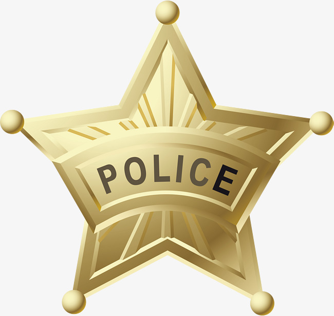 650x615 The Metal Star Badge., Star Vector, Five Pointed Star, Police Png