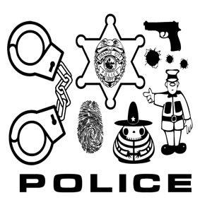 300x300 Police Vector