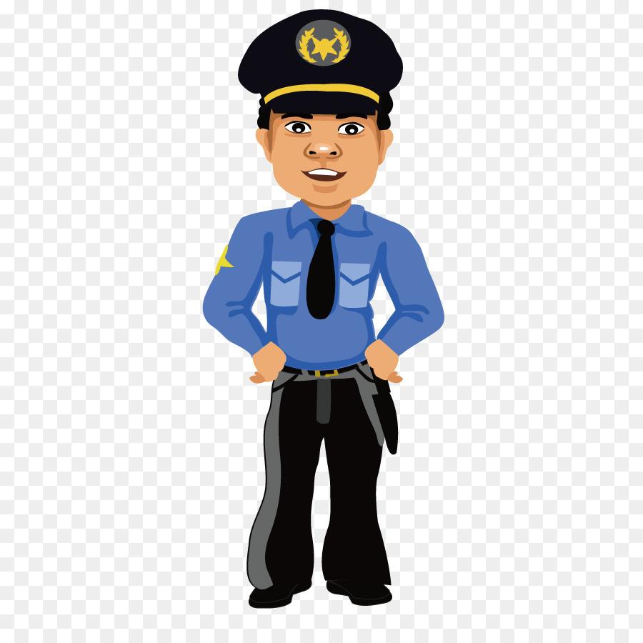 900x900 Cartoon Police Officer