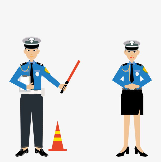 650x651 Take The Traffic Police, Vector, Baton, Traffic Police Png And