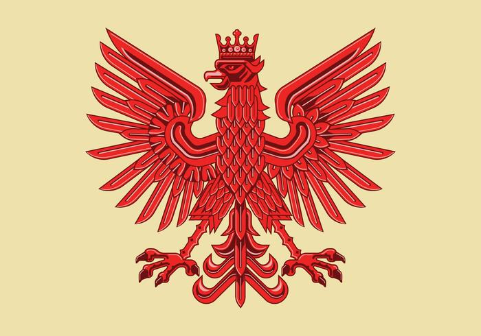 700x490 Art Deco Drawing Of Amazing Polish Coat Of Arm Vector