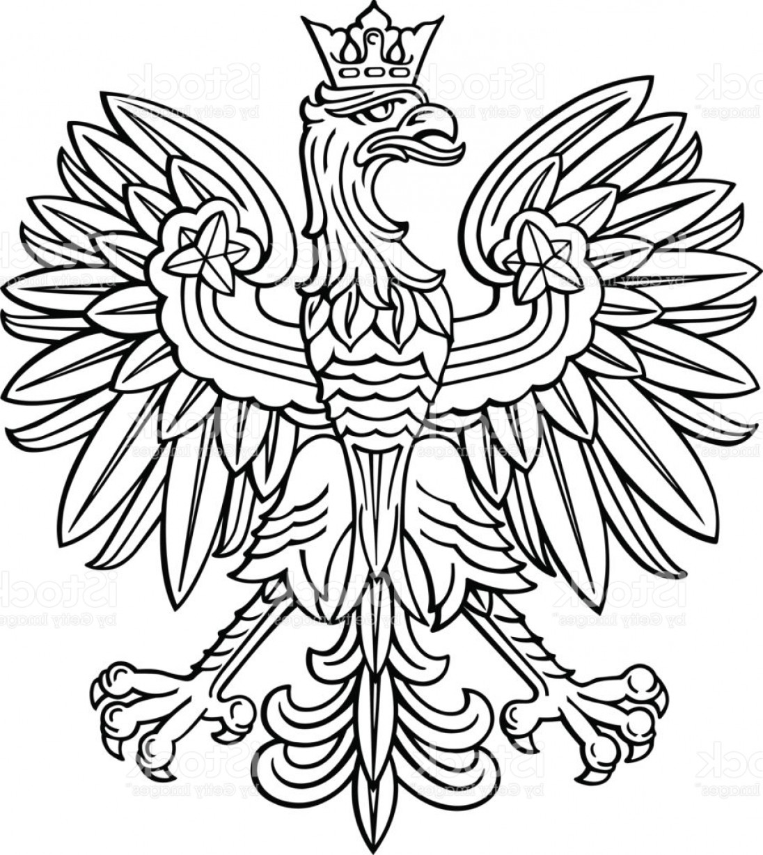 1096x1228 Polish Eagle Vector Arenawp