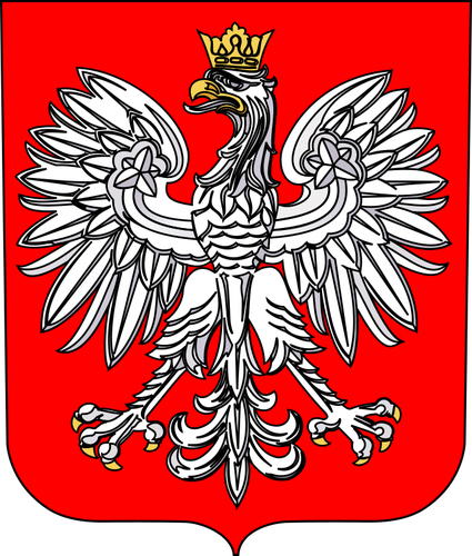 425x500 Coat Of Arms Of Poland Vector Graphics Public Domain Vectors