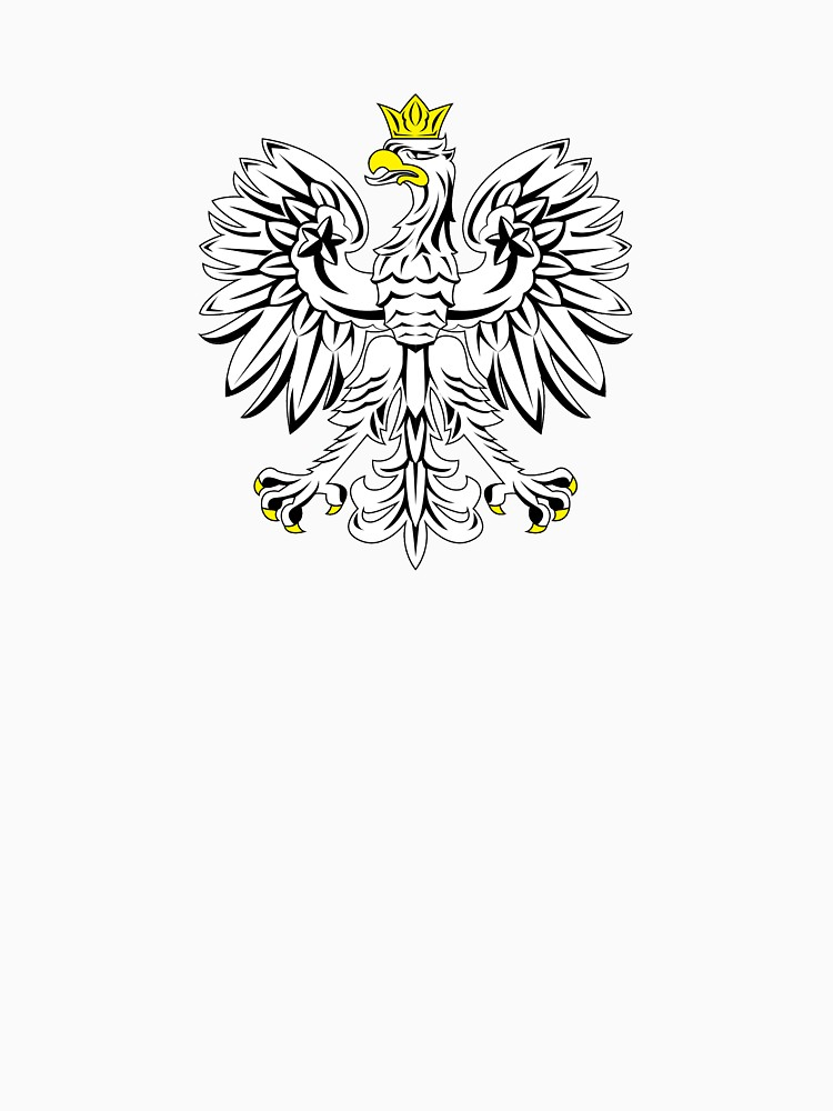 750x1000 Free Polish Eagle Vector T Shirt Long T Shirt By Daniele2016
