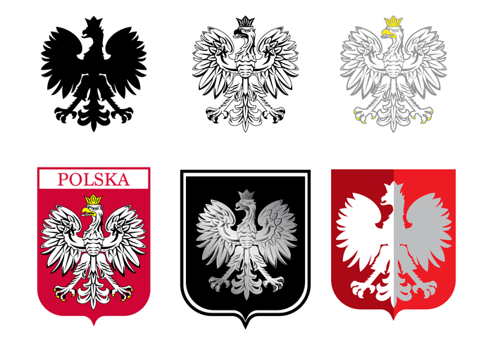 700x490 Free Polish Eagle Vector
