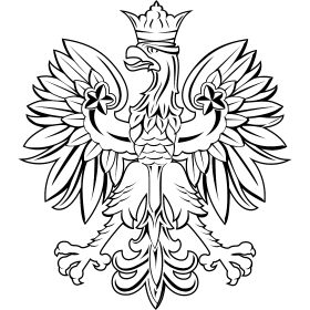 280x280 Polish Eagle Clipart