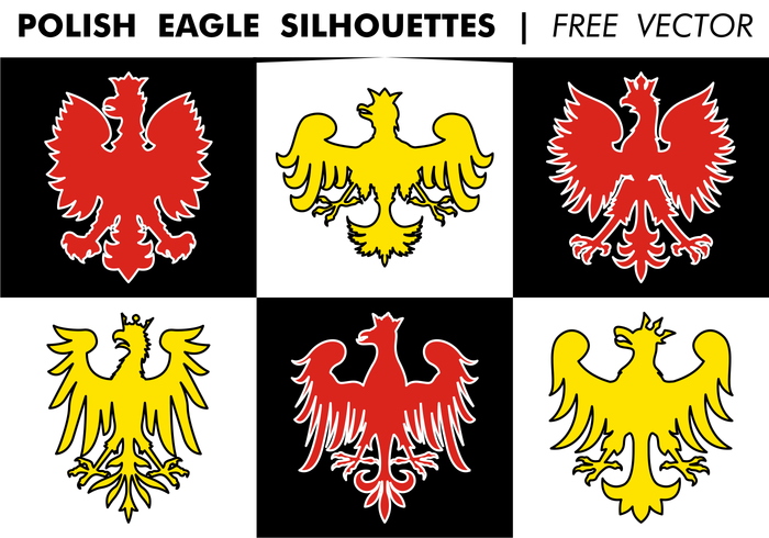 700x490 Polish Eagle Silhouettes Free Vector Free Vectors Ui Download